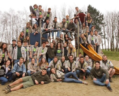Mobiele zonnepaneleninstallatie - Scouts Zottegem